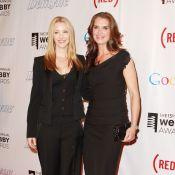 Brooke Shields et Lisa Kudrow complices, non loin de Kevin Jonas et sa Danielle