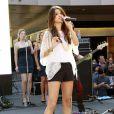 """""""Selena Gomez donne un concert pour ses fans à Santa Monica, le 13 juin 2011."""""""