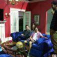 Des images du tournage de  American Pie 4 , intitulé  American Reunion , prochainement en salles.