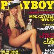 Crystal Harris annule son mariage avec Hugh Hefner mais pose dans Playboy
