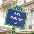 L'inauguration de la Place Gérard Oury, dans le VIIIe arrondissement de Paris, le 22 juin 2011.