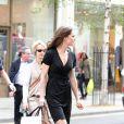 Kate Middleton dans les rues de Londres fin avril 2011