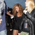 Beyoncé et Gwyneth Paltrow, au Wireless Festival à Hyde Park, le 4 juillet 2010.