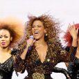 Beyoncé au festival de Glastonbury, le 26 juin 2011.