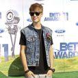 Cérémonie des Bet Awards, à Los Angeles, le 26 juin 2011 : Justin Bieber.