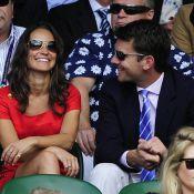 Pippa Middleton amoureuse à Wimbledon auprès de son boyfriend Alex