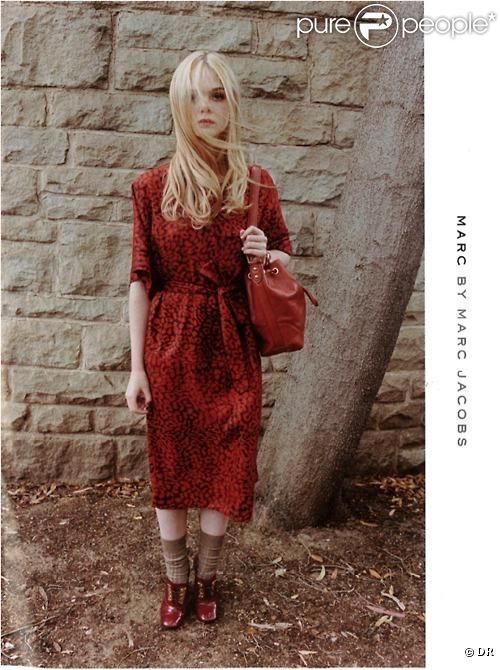 Elle Fanning, pour la campagne Marc by Marc Jacobs.