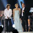 Jean-Michel Jarre lors du concert son et lumière préparé et donné spécialement en l'honneur des jeunes mariés Albert de Monaco et Charlene Wittstock. Monaco, le 1er juillet 2011