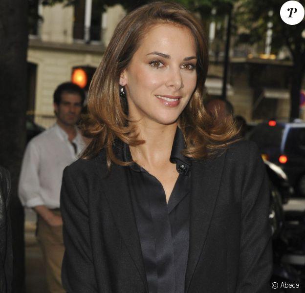 Mélissa Theuriau à Paris, en juin 2011.