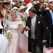 Mariage d'Albert et Charlene : quand la mariée fait son entrée...