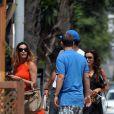 Eva Longoria et Eduardo Cruz à Marbella, le 3 juillet 2011.