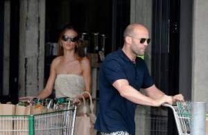 Jason Statham et Rosie Huntington-Whiteley : Un couple amoureux... et détendu