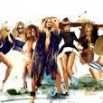 Beyoncé - spot promotionnel pour l'album  4  - juillet 2011