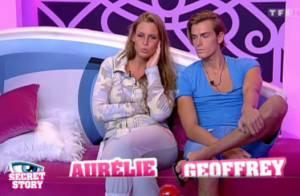 Secret Story 5 : Le faux couple Geoffrey-Aurélie, déjà démasqué ?
