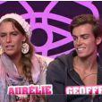 Aurélie et Geoffrey refusent de s'embrasser et mettent considérablement en danger leur secret aussi bien celui de Marie et Geof (quotidienne du lundi 11 juillet 2011).