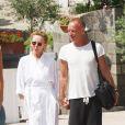 Sting et sa femme Trudie Styler au Festival du film d'Ischia, le 11 juillet 2011
