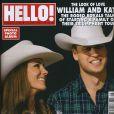 Couverture d'Hello Magazine !, juillet 2011, dans lequel David Hasselhoff et sa compagne affichent leur amour.