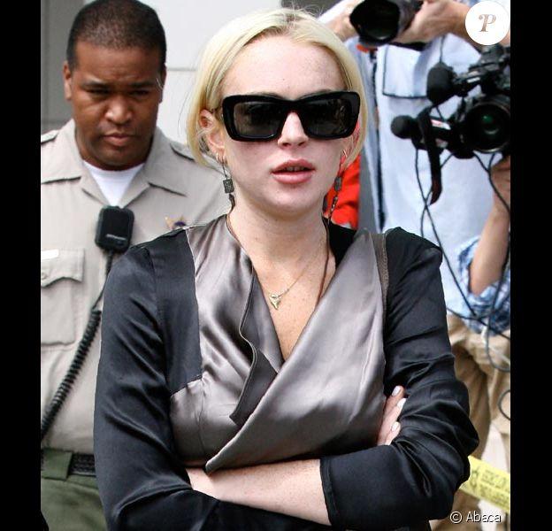 Lindsay Lohan convoquée devant un tribunal de Los Angeles le 21 juillet 2011