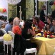 Dîner belge pour l'anniversaire de Geof dans Secret Story 5