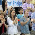 Mondiaux de natation de Shanghai 2011 : comme sur le 200 nage libre (photo), le 200m 4 nages s'est joué entre les Américains Michael Phelps et Ryan Lochte. Encore une fois, c'est Lochte qui l'emporte, record du monde à la clé.