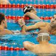 Aux Mondiaux de Shanghai 2011, le 28 juillet, l'Américain Ryan Lochte a encore dominé son compatriote Michael Phelps, record du monde à la clé, sur le 200m 4 nages.