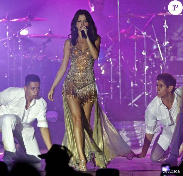Selena Gomez en concert à Boca Raton en Floride le 28 juillet 2011