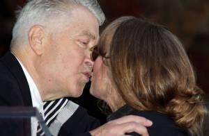 Sissy Spacek : Son étoile à Hollywood lui vaut un doux baiser de David Lynch