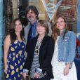 Sissy Spacek reçoit une étoile sur le Walk of Fame à Hollywood, en présence de ses amis David Lynch et Bill Paxton ainsi que de sa famille. Los Angeles, 1e août 2011