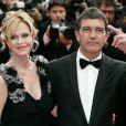 Antonio Banderas et Melanie Griffith s'aiment depuis 15 ans et le prouvent à chacune de leurs sorties en couple. Ici au Festival de Cannes en mai 2011