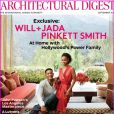 Will Smith et Jada Pinkett Smith en couverture d'Architectural Digest