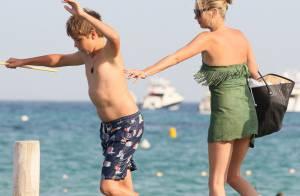 Kate Moss s'en prend à un enfant sur la plage, et ça l'amuse !