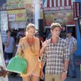 Blake Lively et Chace Crawford sur le tournage de Gossip Girl, à Venice Beach, Los Angeles, le 4 août 2011 !