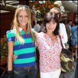 Nubia et sa maman Lio, à Roland-Garros, en 2011.