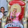 Nicki Minaj en concert à Central Park pour  Good morning America  sur ABC, le 5 août 2011.