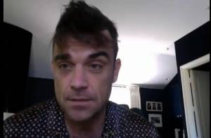 Robbie Williams fait visiter sa maison, sa femme est en nuisette !