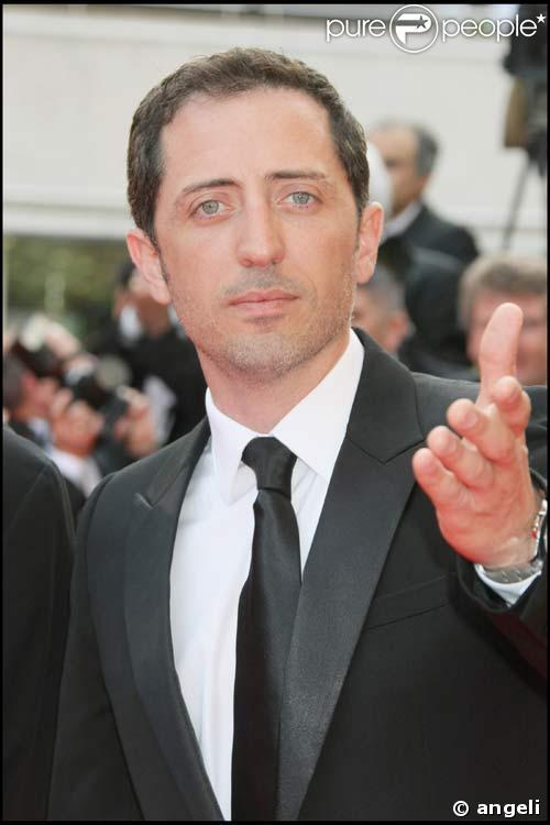 Gad Elmaleh sur le tapis rouge à Cannes, le 14/05/08