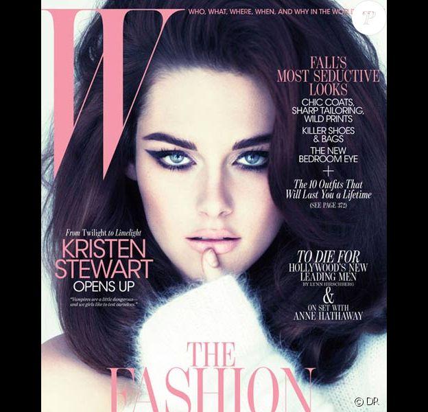 Kristen Stewart en couverture du magazine W