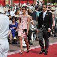 Charlotte Casiraghi est folle amoureuse d'Alex Dellal, le filleul de Mario Testino. Monaco, 2 juillet 2011