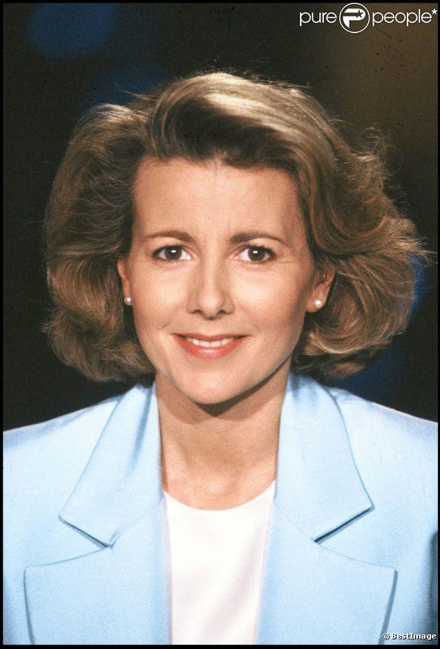 Claire Chazal le 16 mars 1992
