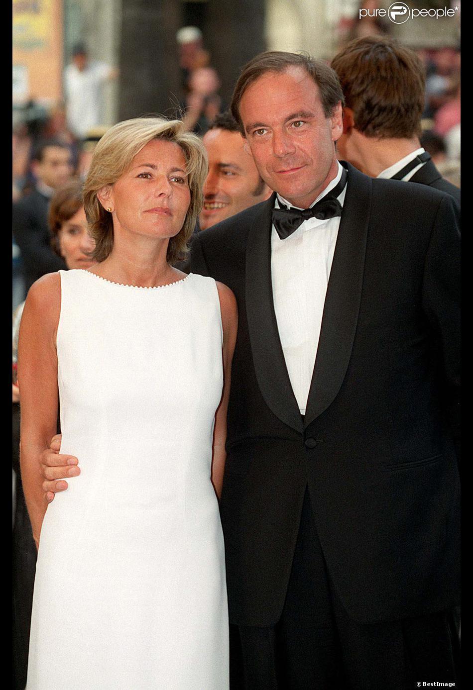 Claire Chazal et Xavier Couture en mai 1999.
