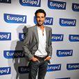 Alexandre Ruiz à la conférence de presse annuelle chez Europe 1 à Paris en août 2009