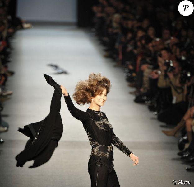 Valerie Lemercier Le Defile Gaultier Je Ne Crois Pas Que Je Le Referai Purepeople