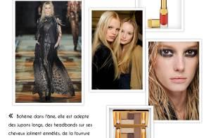 Un style, un make-up : tendance folk