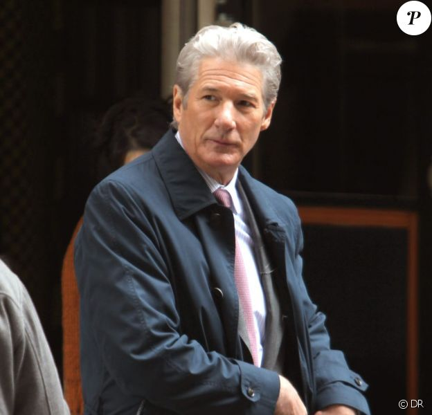 Richard Gere à New York, sur le tournage d'Arbitrage, en mai 2011.