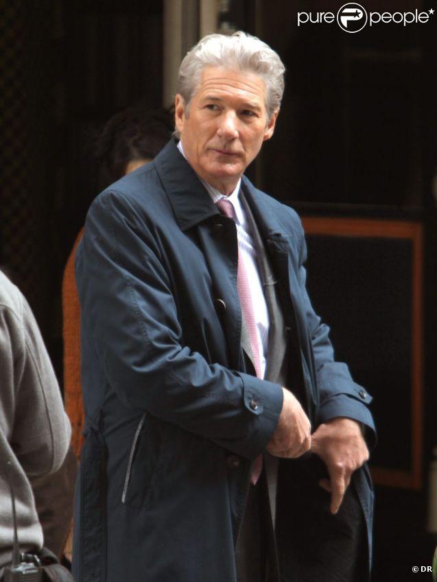 Richard Gere à New York, sur le tournage d' Arbitrage , en mai 2011.