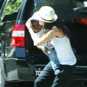 Sandra Bullock : Toujours adepte des cascades, même avec son fils dans les bras