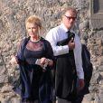 Cathy et Ricky Hilton lors du mariage de Petra Ecclestone avec James Stunt au Chateau Odescalchi le 27 août 2011