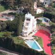 Photo non datée du Paquebot, villa de Charles Trenet sur les hauteurs d'Antibes-Juan-les-Pins aujourd'hui quasiment à l'abandon.