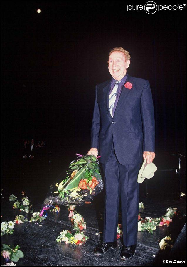 Charles Trenet, à Paris, le 20 mai 1993.