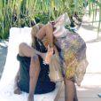 Beyoncé et Jay-Z s'aiment depuis 2002 et se sont dit oui le 4 avril 2008 à New York. Aujourd'hui, le couple star attend son premier enfant. (Miami, 1e septembre 2004)